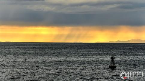Uscendo dal porto di Reykjavik
