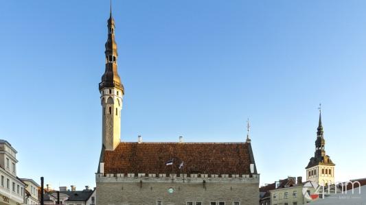 Il municipio medievale di Tallinn